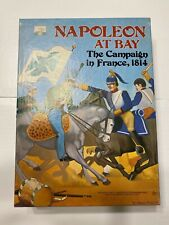 Napoleon At Bay The Campaign In France 1814 Game Avalon Hill 1983 UNPUNCHED