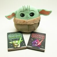 "NEW Star Wars The Child Baby YODA Squishmallows 10"" Plush Mandalorian w/ 2 Books"
