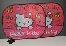 HELLO KITTY CAR SIDE WINDOW SUN SHADE SHADE SANRIO AUTO ACCESSORY 2PC SET