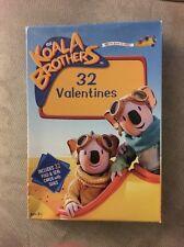 NIB KOALA BROTHERS Playhouse Disney 32 Valentines NEW