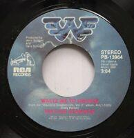 Country Nm! 45 Waylon Jennings - Waltz Me To Heaven / Dream On On Rca