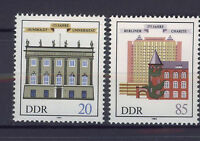 ALEMANIA/RDA EAST GERMANY 1985 MNH SC.2508/09 Buildings