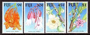 Fiji Sc# 595-98 VF MNH Set Flowers