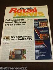COMPUTER RETAIL NEWS - PCTV SWITCH OFF - FEB 12 1996