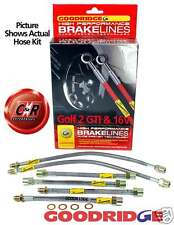 VW Golf GTI Mk2 6 Line Goodridge Brake Hose Kit Svw0600-6p CLG in Stock