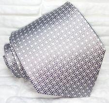 da7db29311 Cravatta uomo seta Made in Italy grigio argento evento jacquard business