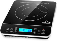 Duxtop Portable Induction Cooktop, Countertop Burner Induction Hot Plate * Free