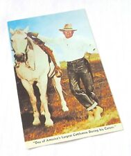 WM. Grounds, Cowboy and Rancher - American Cattleman Postcard - Unused