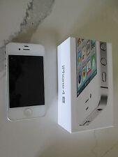 APPLE 4S iPhone ( unlocked) - 16GB - White with Original Box