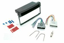 Dash Kit for Ford Mercury Single Din Radio Install w/ Wire Harness and Antenna
