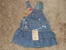 Oshkosh Girl BGosh Dress Skirt Overall Vestbak 18 Months...