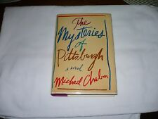 "SIGNED-The Mysteries of Pittsburgh"" by Michael Chabon- 1st Edition/1st Printing"