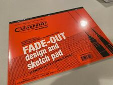 "Clearprint Fade-Out Design And Sketch Pad - Isometric Grid 8.5"" X 11"" 30 Sheets"