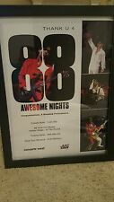 Prince 88 Awesome Nights Rare AEG Live Promo Poster Framed!