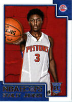 2015-16 Hoops Detroit Pistons Basketball Card #267 Stanley Johnson Rookie