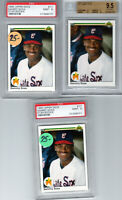 "{Lot 3} 1990 Upper Deck #17  ""Sammy Sosa"" RC Rookie @@LOOK@@ PSA 10 & 9s  Lot  3"