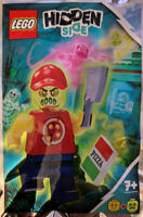 ORIGINAL LEGO Hidden Side Possessed Pizza Delivery Man Minifigure - 791902