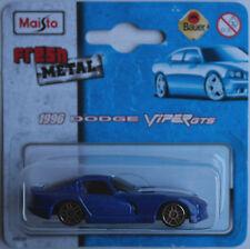 Maisto - 1996 DODGE VIPER GTS blaumet. Nuovo/Scatola Originale