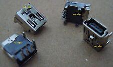 2 CONECTORES MINI USB 5 PIN HEMBRA PLUG SOCKET GPS TOMTOM TOM TOM Y MAS (LARGO)