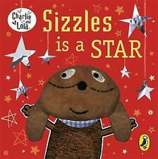 NEW SEALED Charlie and Lola FINGER BOARD BOOK Sizzles is a Star