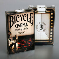 Bicycle Cinema Deck - Playing Cards - Magic Tricks - New