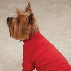 Red Basic Dog Tee Shirt