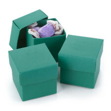 New Hbh Emerald Green Favor Boxes 25 pc.