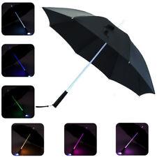 2017 LED Lightsaber Umbrella Light Up with 7 Color Changing On the Shaft