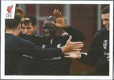 PANINI LIVERPOOL STICKER-2014/15- #060-MAMADOU SAKHO DOUBLE HIGH-FIVE'S PLAYERS