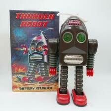 Thunder Robot - Battery Operated - Robot Métal vintage en boite type Forbiden pl