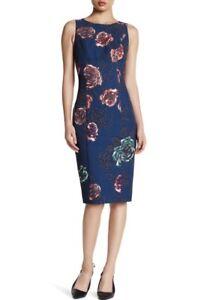 Black Halo Bernadette Sheath Dress, NEW, Sz 10, Retail: $390