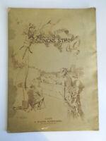1885 Fran Seinens Strand Associazione Delle Artisti Svedese Catalogue Mostra