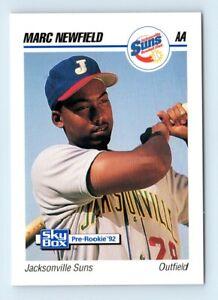 1992 SkyBox AA Marc Newfield Jacksonville Suns #157