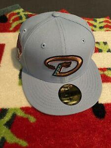 7 1/2 New Hat Club Exclusive Arizona Diamondbacks Cotton Candy Fitted