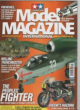Tamiya Model Magazine # 132 Tauro 1/35 A7V Tamiya 1/48 He162