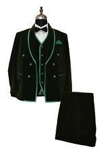 Special Gift For Him Suits Designer Wedding Velvet suits (Jacket+Vest+Pants)
