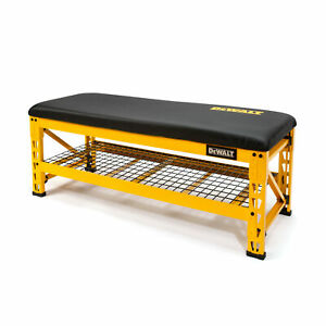 Dewalt Garage Bench with Wire Grid Storage Shelf DXSTFB048