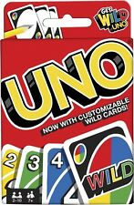Mattel UNO Original Playing Card Game 2-10 Players Age 7+