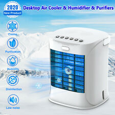 Portable Air Conditioner Cooler Fan Evaporative Humidifier Air Cooling Cool Fans