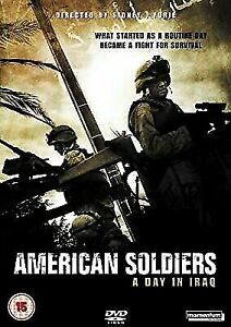 American Soldiers - A Day In Iraq (DVD, 2006) War Action Movie