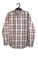 Stussy Button Down Checked Shirt Made In Japan size men's L