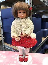 Gabriele Müller Gelenkpuppe Porzellan Puppe 30 cm. Top Zustand