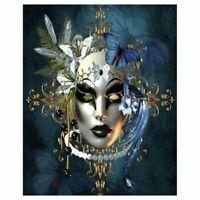 5D Full Drill Diamond Painting Kit Embroidery Art Decor Female Demon Mural Craft