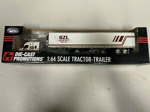 """DCP 33096 """"GZL"""" Freightliner 1:64 Die-cast Promotions First Gear"""