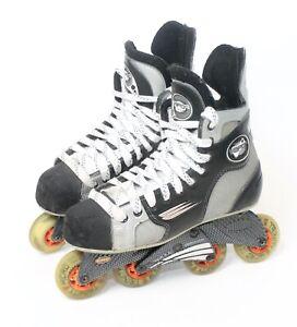 Bauer Vapor 10 Comp Rocker Inline Hockey Rollerblade Skates 7.5 D US Shoe Size 9