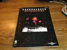 SOUNDGARDEN-SUPERUNKNOWN, GUITAR TAB BOOK, OOP, RARE, VG CONDITION!