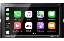 New JVC KW-M75BT Apple CarPlay 6.8'' Android Auto Bluetooth Mechless Receiver