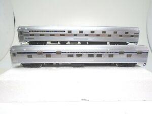Walthers Ho Budd Passenger Sleeper cars(2), B&O