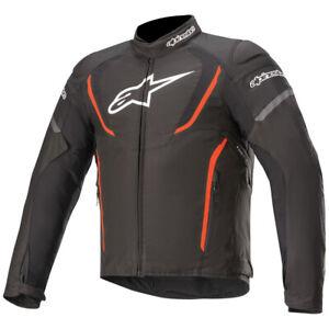 Alpinestars T Jaws V3 Textile Motorcycle Jacket Black Red