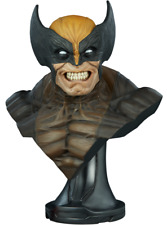 Marvel Comics X-MEN Wolverine Life-Size Bust by Sideshow Collectibles Statue NOW